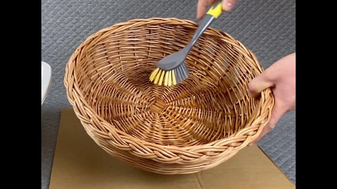 How To Clean a Prestige Wicker Basket