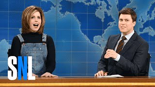 Weekend Update 2-13-16 with Rachel from Friends - SNL