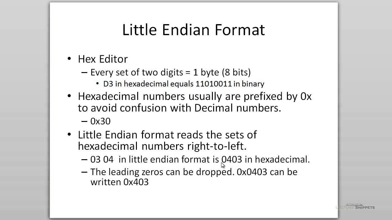 Ubuntu 12 04 Forensics - MFT Little Endian Format in a Hex Editor