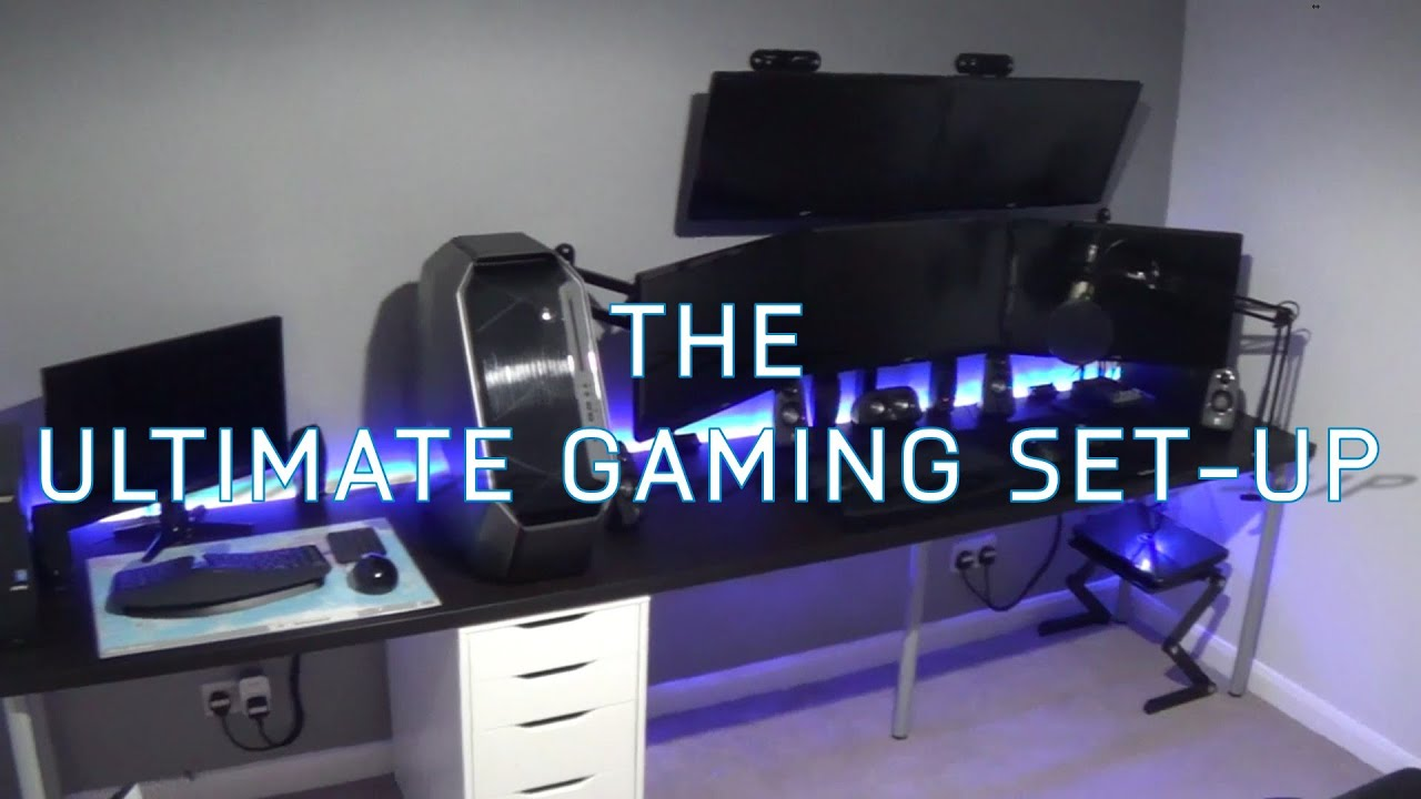 The Ultimate Gaming Set Up Alienware Area 51 Unboxing