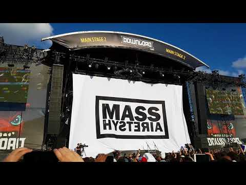 Mass Hysteria ouverture Festival Download Paris 2018