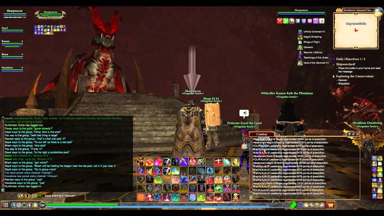 EverQuest 2 Zarrakon's Abyssal Chamber Raid