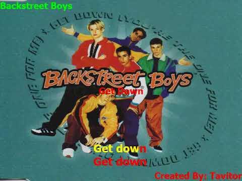 Backstreet Boys   Get Down (Karaokê)
