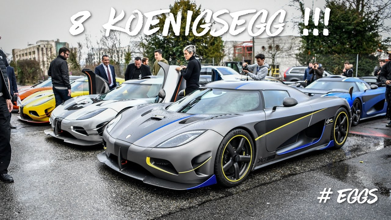 8 Koenigsegg à Genève 2 One1 Agera Rs Naraya Xs Ml Ccx Ccr