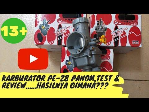 KARBURATOR PE 28 PANOM, TEST DAN REVIEW - YouTube