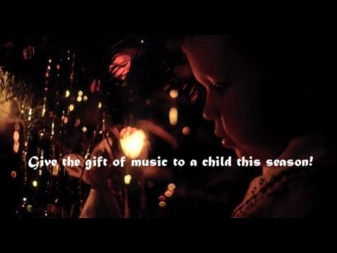 Give the gift of music to a child this season! -Mark O'Connor