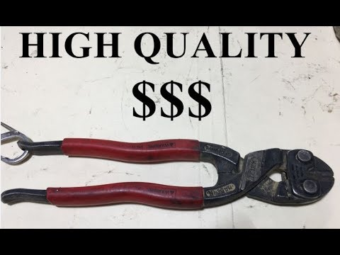 Knipex ( Best Cutters ) For Scaffold Workers Or Cutting 9 Wire