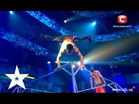 Коллектив Strong spirit - Украна ма талант-7 - Второй прямой эфир. Полуфинал - 02.05.2015