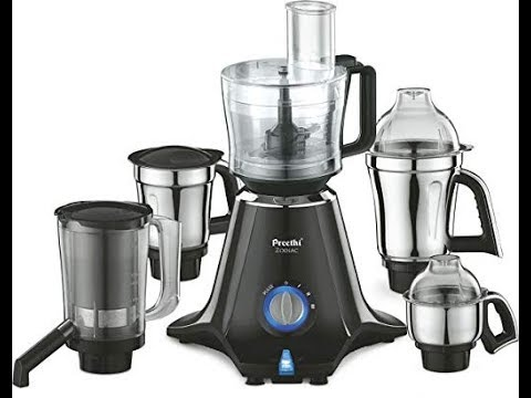 Preethi Zodiac Mixer Grinder - Master Chef Jar Demonstration | Preethi Mixer Grinder from YouTube · Duration:  3 minutes 17 seconds