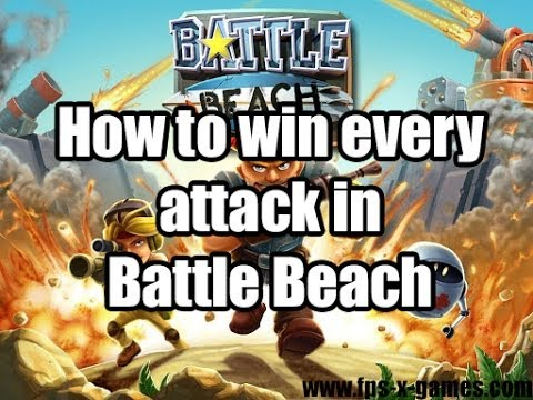 How To Win Every Attack In Battle Beach