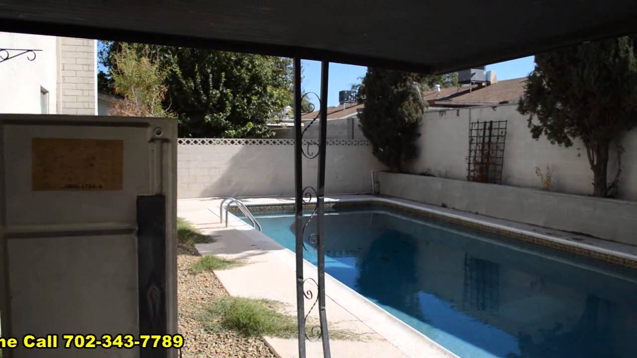 houses for rent 4 bedroom with pool. 4 bedroom house with in ground pool for rent las vegas nevada youtube houses