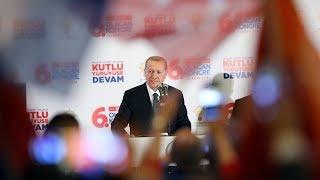 Cumhurbaşkanı Erdoğan İstanbul İl Gençlik Kolları Kongresi'nde konuştu