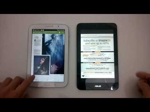 Asus Vivotab Note 8 vs Samsung Galaxy Note 8