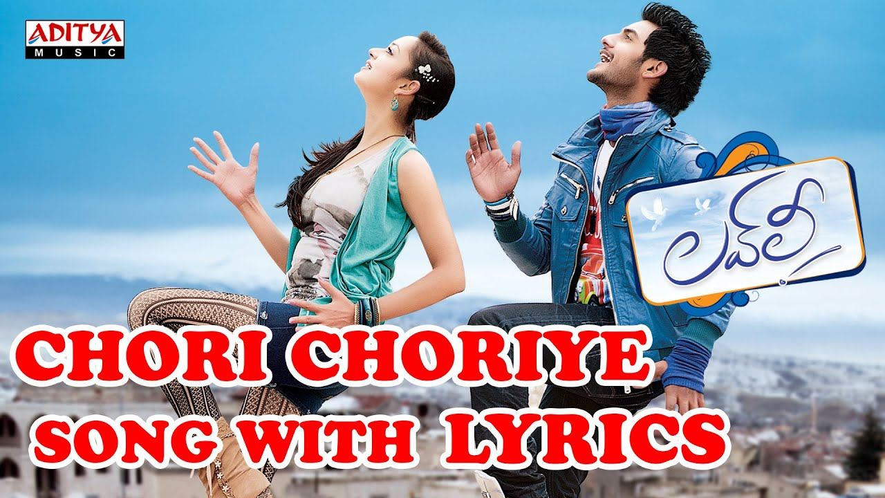 Chori Choriye Video Song - Lovely Video Songs - Aadhi ...