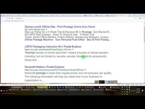 What is Proper Postage and What some have figured out?????   By EEON 2017 09 23