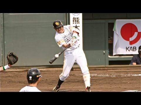 【お手本】逆方向へ 強い打球の打ち方 ソフトバンク内川聖一