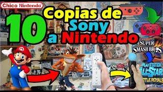 10 Cosas que Sony le copió a Nintendo. Los más grandes plagios en los videojuegos / Chico Nintendo
