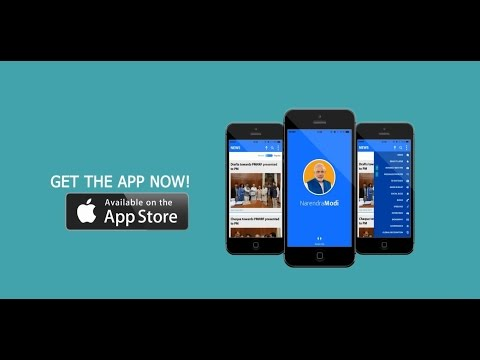 The Official Mobile App of Narendra Modi now available on Apple Store