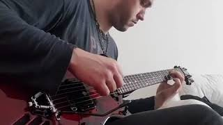 Anton from Moscow plays some sweet blues on his Self-Amplified EP Model One Guitar.