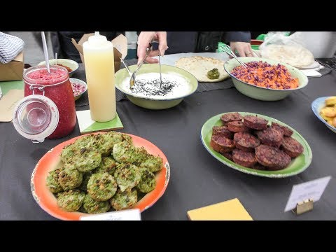Persian Food from Iran Tasted in Broadway Market, London