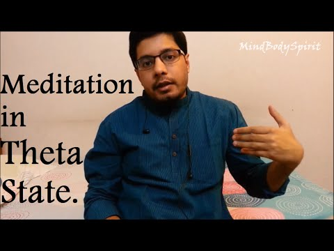 Easiest Way to Get into Theta State of Mind - Theta Meditation - Theta Waves - Law of Attraction