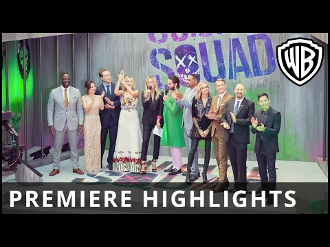 Suicide Squad – European Premiere Highlights - Official Warner Bros. UK