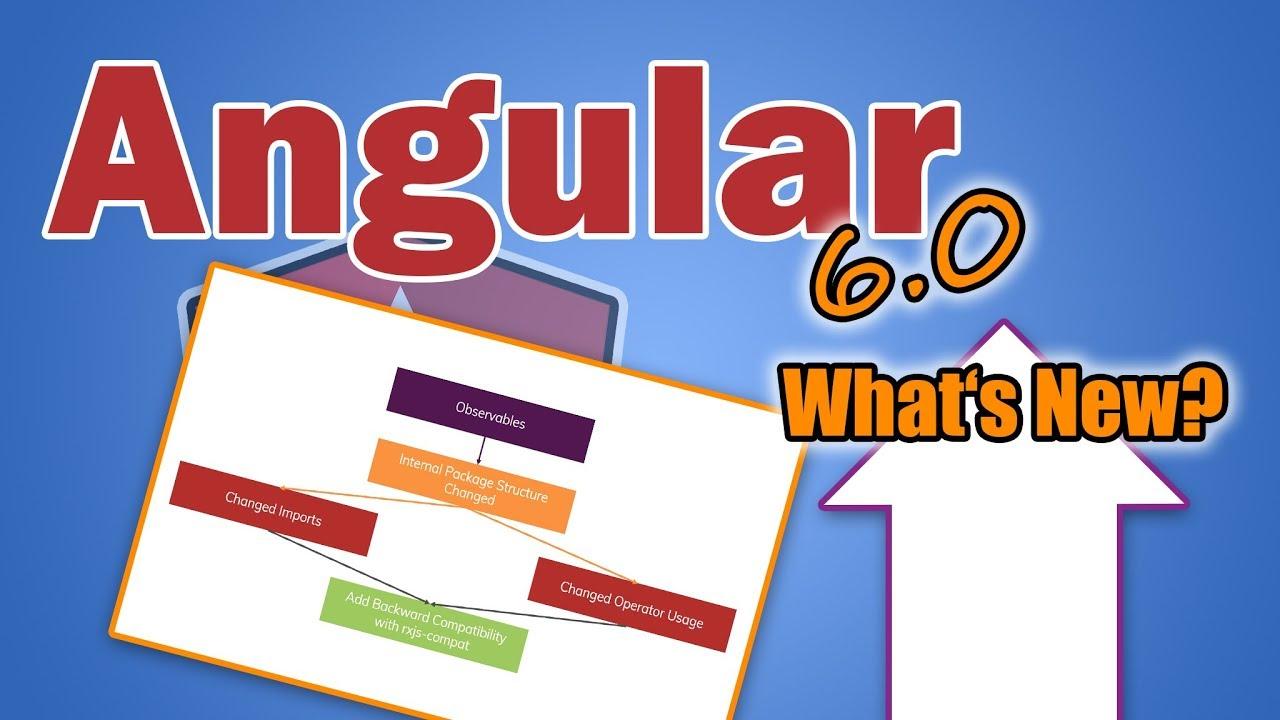 Angular 6 - What's New & Upgrade Guide