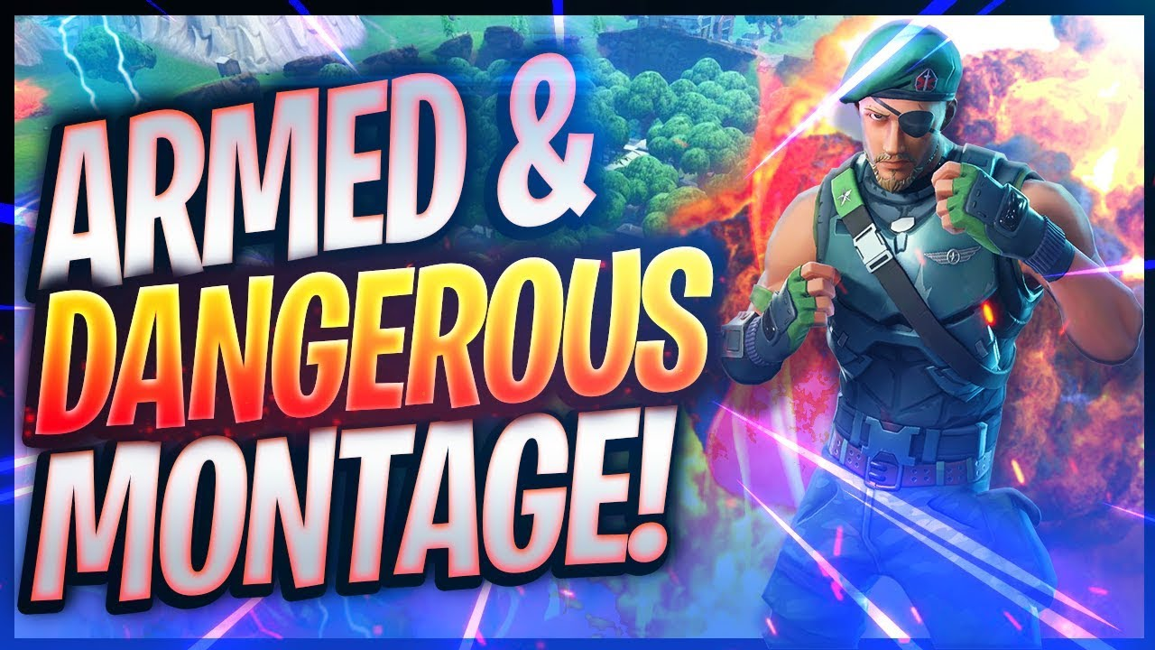 Fortnite Montage Armed And Dangerous Juice Wrld