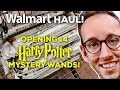 HARRY POTTER SHOPPING HAUL - OPENING 14 MYSTERY WANDS AND MORE