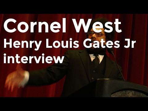 Cornel West and Henry Louis Gates Jr  on