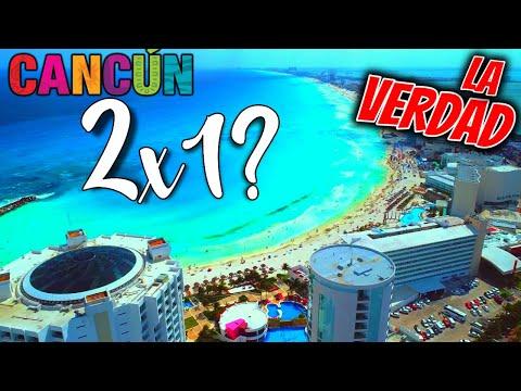 😱 IMPRESIONANTE! Cancun! AL 2X1 (Es VERDAD?)   🔴 Hoteles TODO INCLUIDO 2X1 😲   Hotels in cancun 2X1