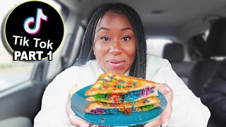 I TESTED VIRAL TIKTOK FOOD HACKS TO SEE IF THEY WORK!