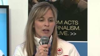 Jennifer Jones talks about her curling future
