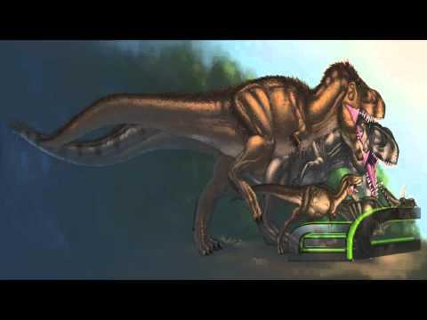 Ancient Reptile Tribute Four: Tyrannosaurus Rex / Tyrannosaurid - Dinosaur.