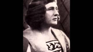 """""""Louise"""" Dans la cité lointaine: Emile Gallins, Belgian tenor Polydor 10 inch 1930 ."""