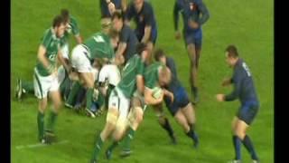 Ireland's Scores Grand Slam 2009 Part 1