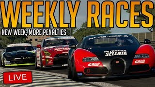 Gran Turismo Sport: New Load of Weekly Races | AND GETTING PENALTIES OBVIOUSLY thumbnail