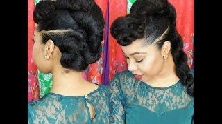 "Video Natural Hair Protective Hairstyle ""Twist'n'Bun"" download MP3, 3GP, MP4, WEBM, AVI, FLV Juli 2018"