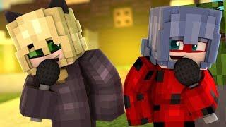 Bitten By The Same Bug 🐞 Version Extendida 🎤 Canciones de Minecraft Ladybug y Cat Noir Video