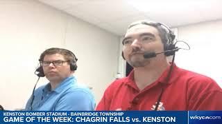 LISTEN   WKYC.com High School Football Game of the Week - Chagrin Falls vs. Kenston
