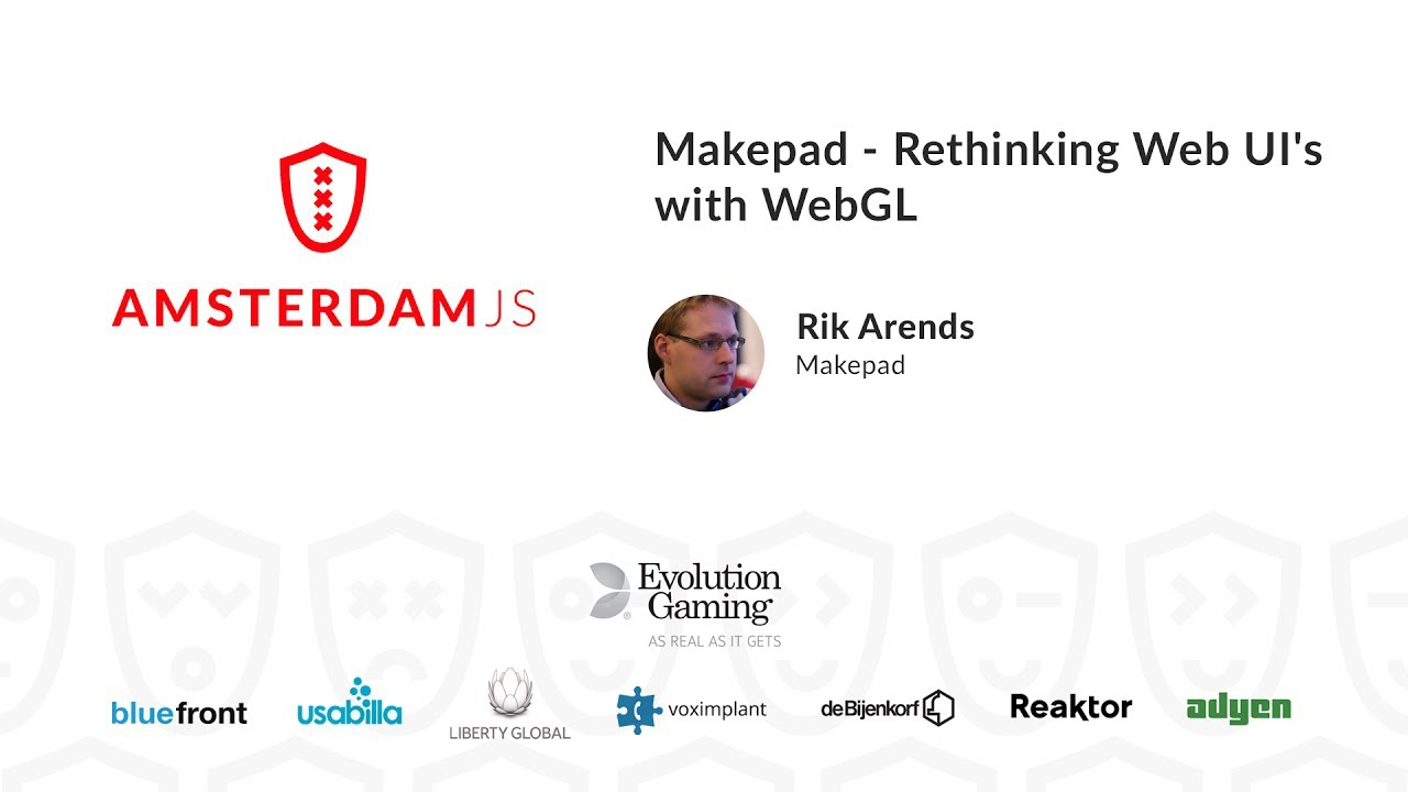 Makepad: Rethinking Web UI's with WebGL – Rik Arends