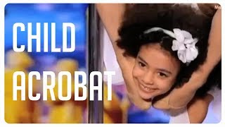 Child Dancer performs awesome acrobatic routine on Ukraine's Got Talent