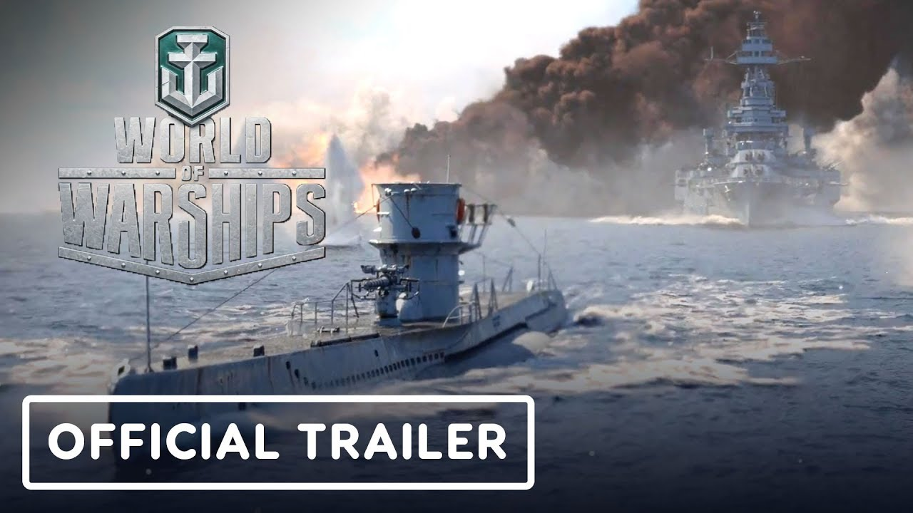 World Of Warships Official Submarines Cinematic Trailer Youtube