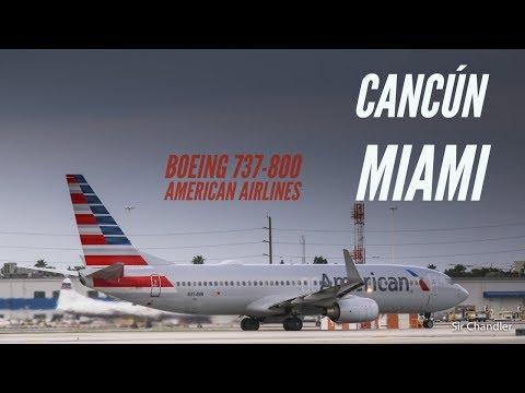 Vuelo Cancún Miami Con American Airlines