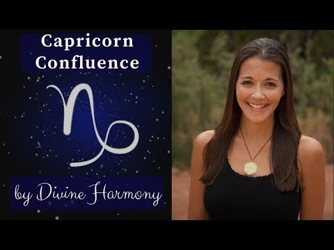 ♑ Capricorn Confluence by Divine Harmony Astrologer Writer and Teacher