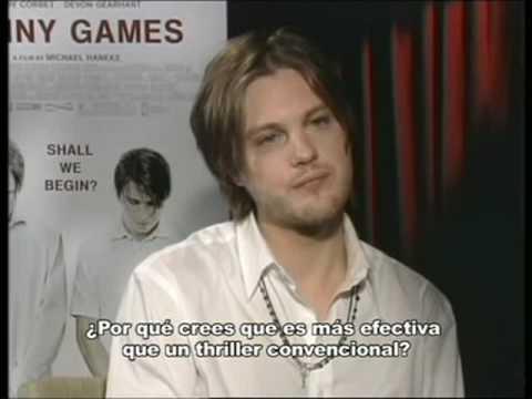 Funny Games - Entrevista Michael Pitt & Brady Corbet - YouTube