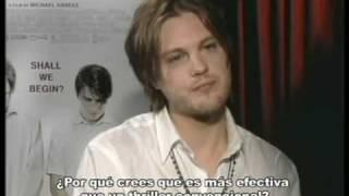 Funny Games - Entrevista Michael Pitt & Brady Corbet