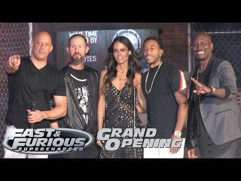 'Fast & Furious - Supercharged' Grand Opening