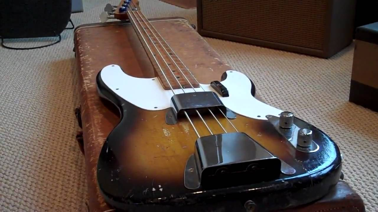 1957 fender p bass eddie vegas mp4 youtube. Black Bedroom Furniture Sets. Home Design Ideas
