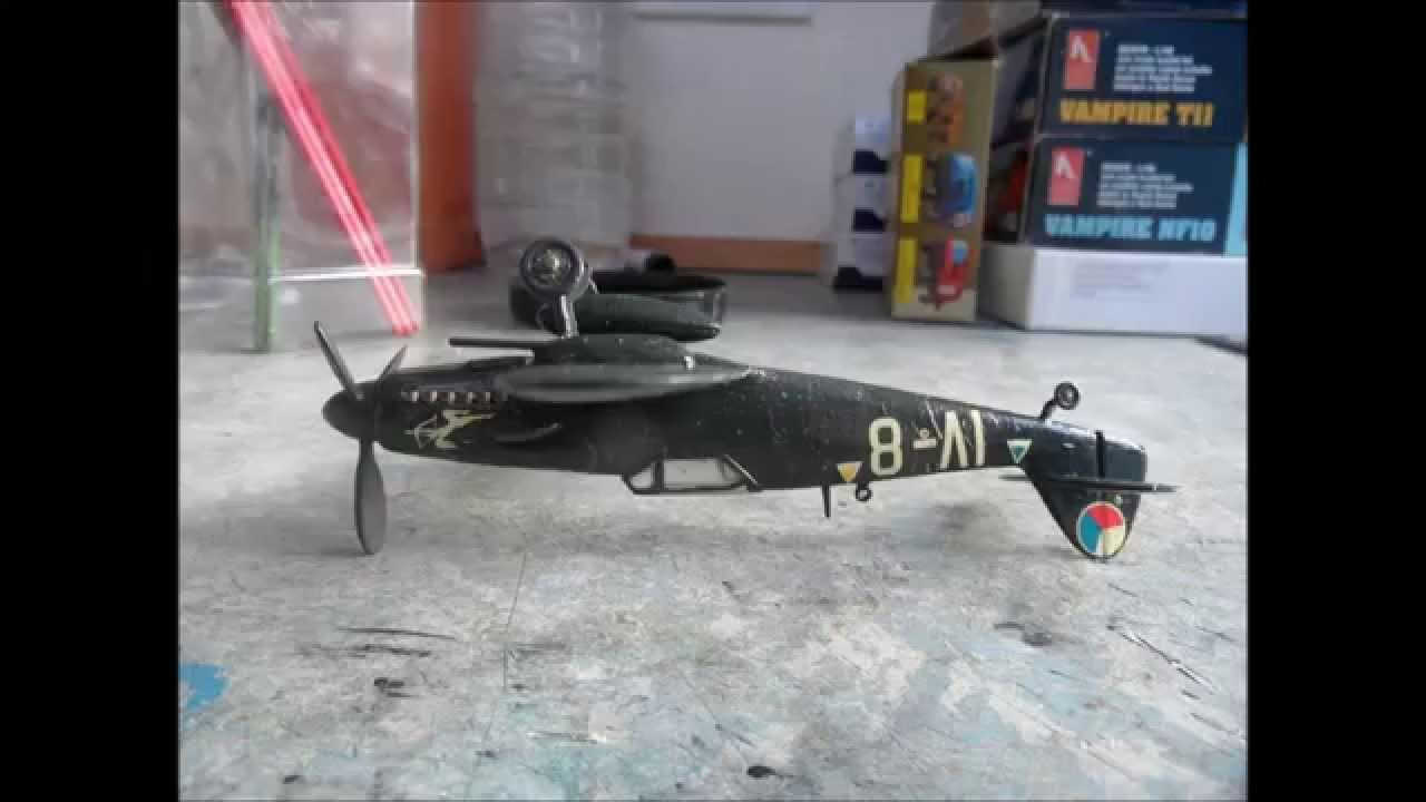 inbox building review of kp 1 72 avia s 199 youtube